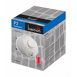 Bastion Pacific P2 Respirator Mask with Valve BOX OF 12