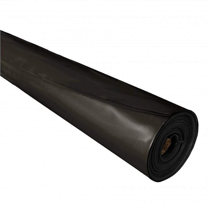 Builders Film Black Medium Impact 6M x 33M 200um 0.2mm Concrete Grade Concreters Plastic Films