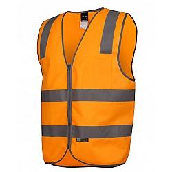 Vic Rails (D+N) Safety Vest Orange