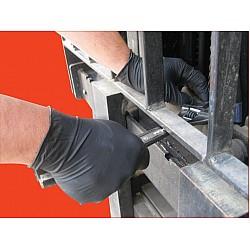 BLACK SHIELD Maxisafe Extra Heavy Duty Nitrile Glove GNB218