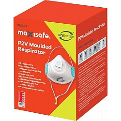 P2 Moulded Valved Respirator with Valve BOX OF 10 Masks RES504