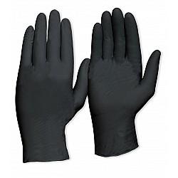 Prochoice Disposable Black Nitrile Heavy Duty Powder Free Gloves MDNPFHD