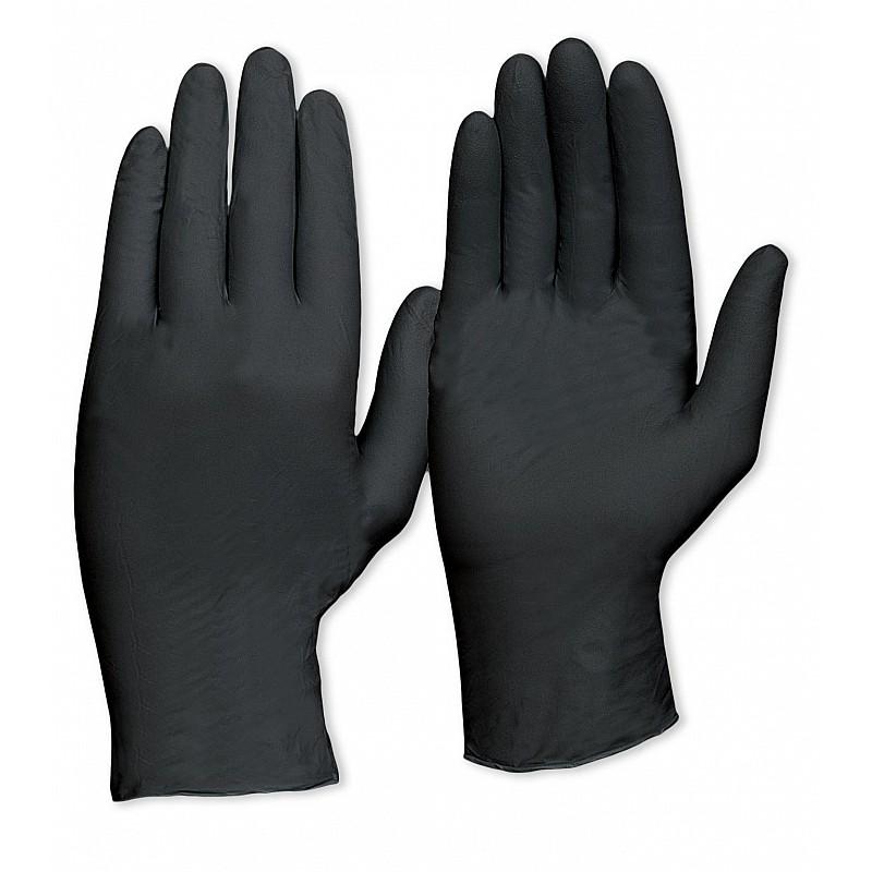Prochoice Disposable Black Nitrile Powder Free Gloves