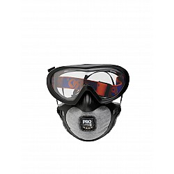 Filter Spec Pro Goggle and Mask Combo P2 Valve Carbon Filter