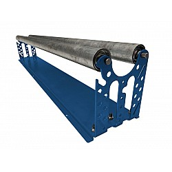 Bench Top Twin Roller Masking Film Dispenser - Multi Setup