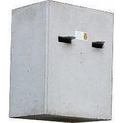 THE BLOCK Bin and Skip Rubbish Concrete Waste Compactor