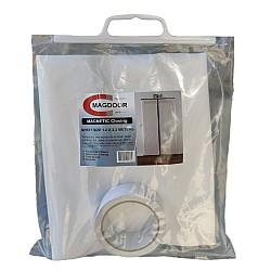 MAGDOOR Magnetic Dust Proof Room & Doorway Seal - Non Woven