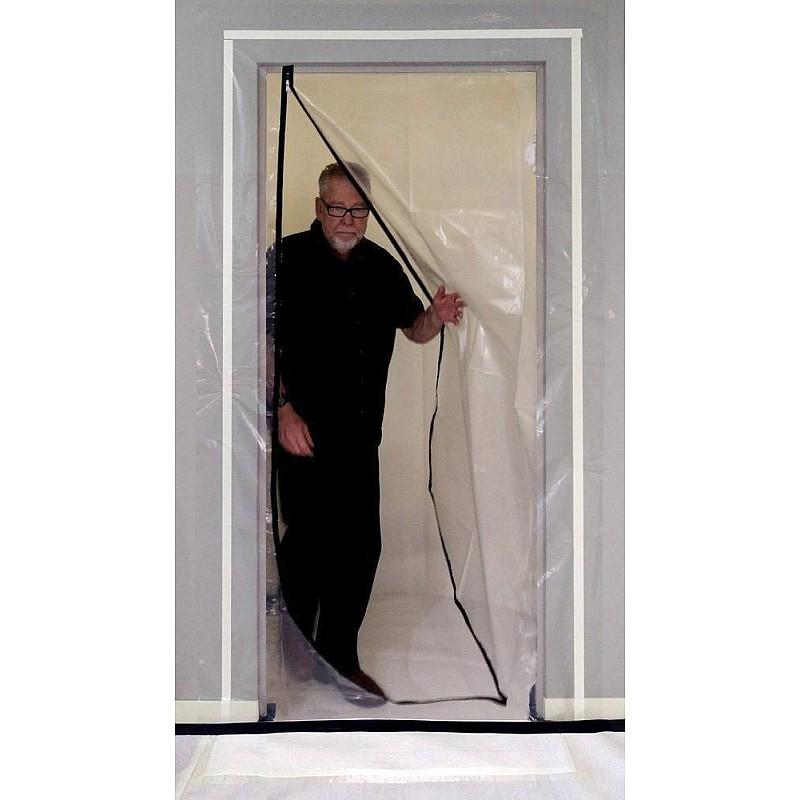 ZIP SEAL DOORWAY L SHAPE Dust Proof Room