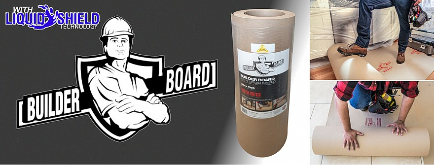 Builder Board ram board floor protection